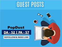 Write And Publish A Guest Post On Popdust.com