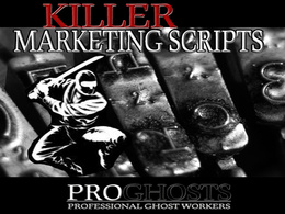 Write a Killer Marketing/Explainer/Script (SUPER Discount!!!)