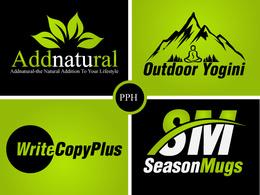 Design professional unique and flat logo