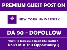 Guest post on New York University Nyu Edu nyu.edu - DA 90