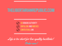 Add a guest post on thelibertarianrepublic.com