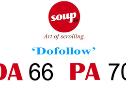 "Write And Publish DO-FOLLOW Guest Post on ""soup"" DA-66"