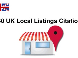 30 UK Local Listings Citations For UK based business