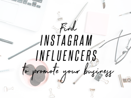 Create an influencer target list to help market your business