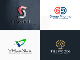 Design your flat or minimalist logo professionally
