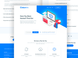 Homepage / Landing Page PSD and Sketch files for your business