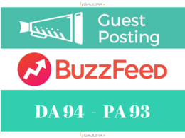 Publish Guest Post with DOFOLLOW link on BuzzFeed.com Da 94