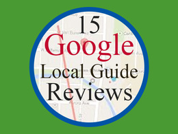 Do 15 UK Google Local Guide SEO Raking Maps Reviews Directory