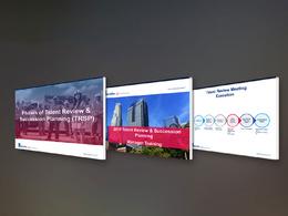 Design pdf pitch deck business presentation advertising