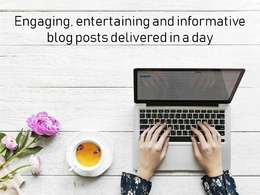 Write a blog post for 1,000