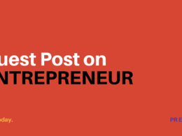 Publish a guest post for you on Entreprenuer.com