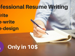 Write, rewrite or re-design your resume