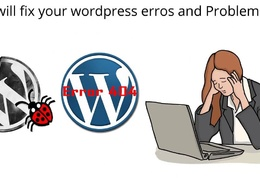 Fixed Wordpress Bugs, Issues and Troubleshouting