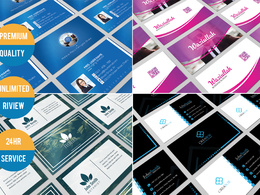 Design  Professional  Unique Business Card in 24hrs