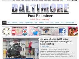 Guest post on Baltimorepostexaminer.com newspaper - DA 55