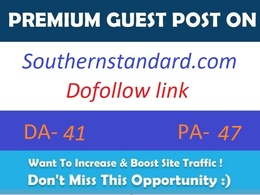 Publish guest post on Southernstandard.com with dofollow