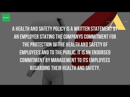 Create a Health & Safety Policy Statement for your company