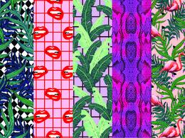 Custom repeat print design for fashion/ homewares/ Stationary