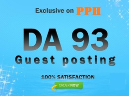 Write and Publish a High Quality dofollow Guest Post On behance