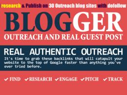 21 Quality Niche Guest Post, Blogger Outreach Service DA 20 -60+