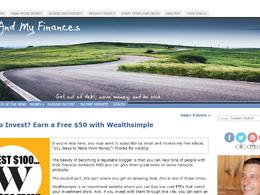 Guest post on lifeandmyfinances.com business website - DA 46