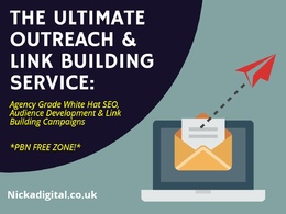 Ultimate SEO Outreach & Link Building (*NO PBN'S)