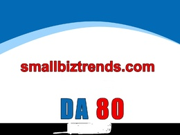 Guest post on smallbiztrends – smallbiztrends.com – DA 80