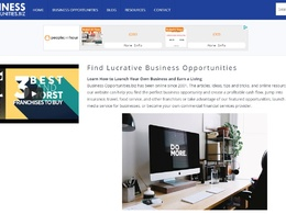 Guest post on business-opportunities.biz business website DA 76