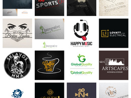 Design an attractive logo+ Source Files + unlimited revision.
