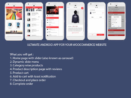 Develop Android app for your woocommerce store