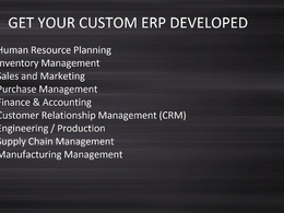 Create a Custom ERP Solution for Your Business