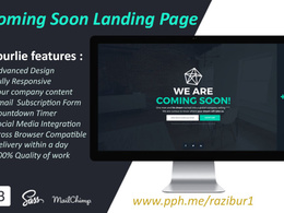 Create A Coming Soon Landing Page In 15 Hours