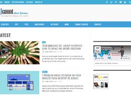 Guest post on Jcount.com Tech website - DA 48