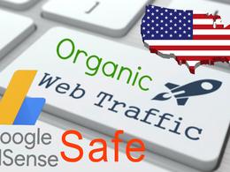 Keyword Target Organic Website Traffic From Usa, Adsense Safe