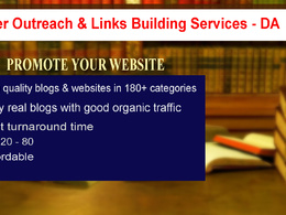 Publish guest post on USA sites  - DA  20 - 80
