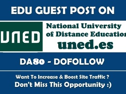 Guest post on National University of Distance Education- DA80