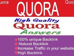Give niche relevant 15 quora answer for targeted traffic