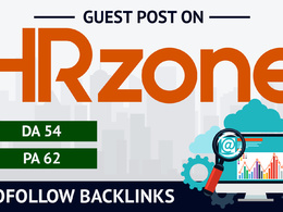 Write and publish A Dofollow Guest post on HRZONE
