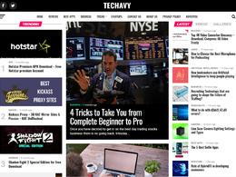 Guest post on Techavy.com Tech website - DA 45