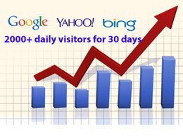 Drive unlimited Keyword Targeted USA Web Traffic to your website