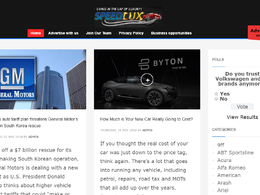 Guest post on Speedlux.com automotive website - DA 49