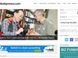 Guest post on noobpreneur.com - noobpreneur business - DA 60