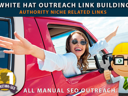 White hat SEO Blogger outreach link building