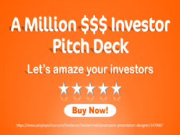A Winning Investor Pitch Deck For Startup Or Business