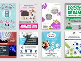 Design your bespoke flyer/poster