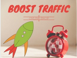 Boost Quality SEO Traffic to Etsy Ebay Amazon or any online shop