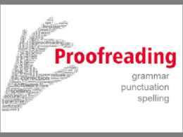 Copy edit and proofread up to 1000 words