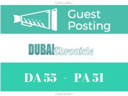 Write and Publish Guest Post on - DubaiChronicle.com DA 55