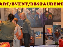 Guest post on Art and Events and Restaurents DA50-USA Blog