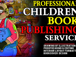 Illustrate and publish your children book on createspace,